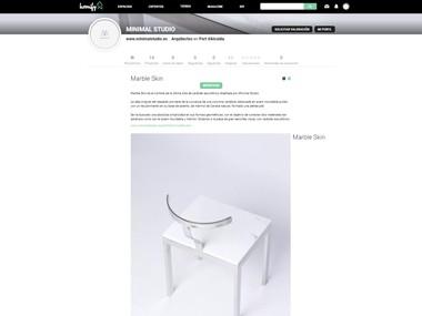 minimal-studio-homify-marble-skin